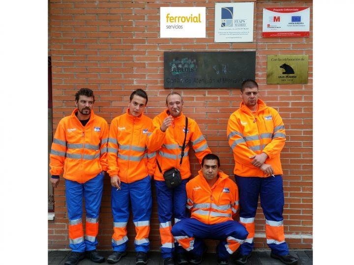 """Se inicia la """"Escuela de Oficios"""" de Ferrovial Servicios para personas con discapacidad intelectual en San Sebastián de los Reyes"""