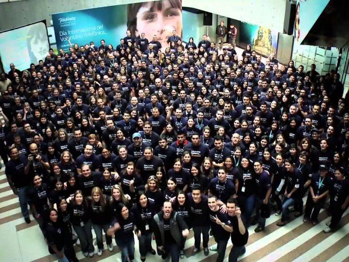 Unos 15.000 empleados participarán en el 'día internacional del voluntario telefónica 2016'