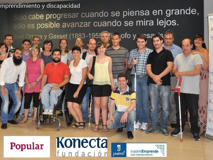 Fundación Konecta y la URJC organizan el II seminario sobre emprendimiento y discapacidad 2016