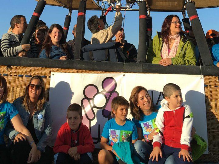 Navarra Televisión recoge como niños con autismo disfrutan de Pamplona a vista de pájaro