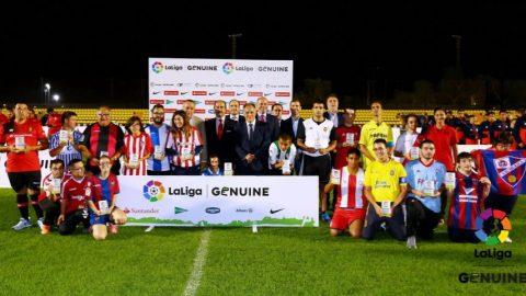 Banco Santander apoya LaLiga Genuine, integrada por equipos de personas con discapacidad intelectual