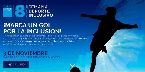 Fundación Sanitas marca un gol por la inclusión con el deporte inclusivo en su 8ª edición