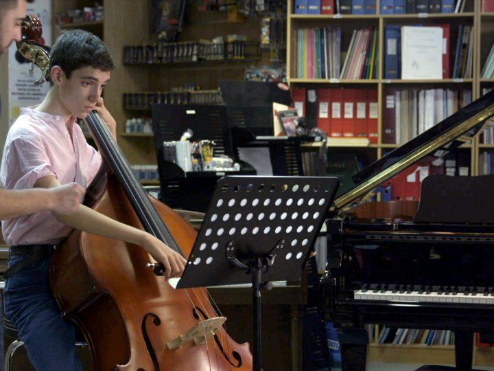 El solista de la orquesta cortometraje de la Fundación Orange