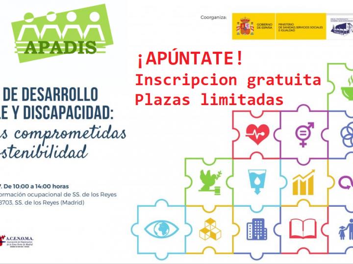 """Alenta y APADIS, protagonistas de la II Jornada de RSE """"ODS y Discapacidad"""""""
