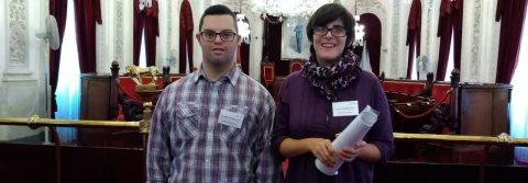Dos jóvenes con discapacidad intelectual realizarán prácticas como ordenanzas en el Ayuntamiento de Cádiz