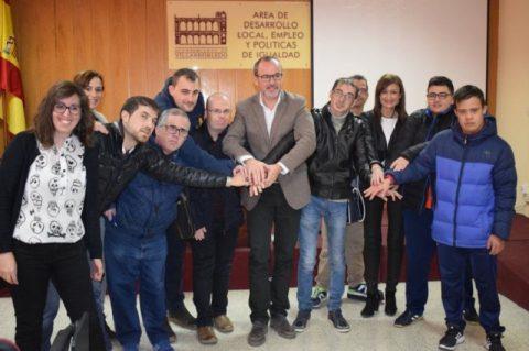 35 personas comenzarán a trabajar este martes en el Ayuntamiento de Villarrobledo gracias al Plan de Discapacidad