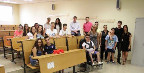 21 jóvenes con discapacidad se forman en la UJA en competencias laborales