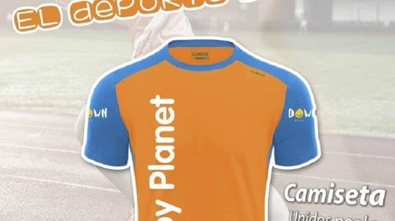 La cadena Toy Planet venderá camisetas solidarias a beneficio de Down España