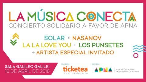 La Música Conecta - Concierto solidario a favor de APNA