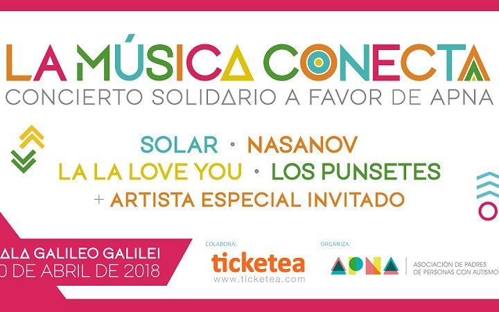 La Música Conecta – Concierto solidario a favor de APNA