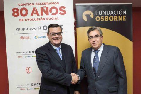 Bodegas Osborne accesibles gracias al acuerdo con la Fundación ONCE