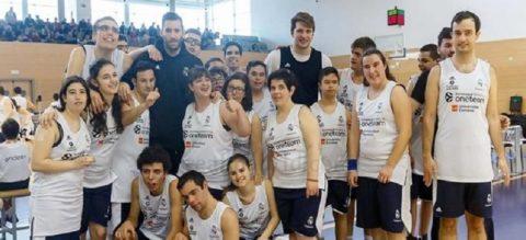 Endesa y la Fundación del Real Madrid promueven el baloncesto inclusivo