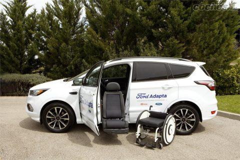 Ford presenta eChair, la silla de ruedas autónoma.