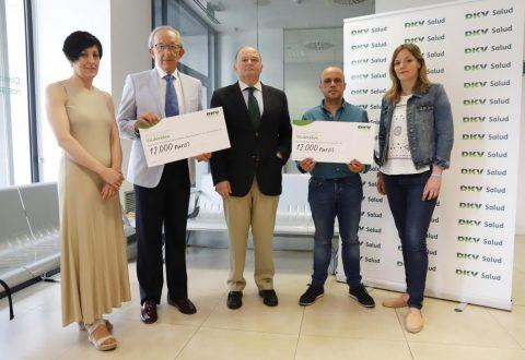 DKV Seguros dona 24.000 euros a las asociaciones de autismo y alzhéimer