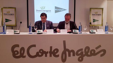 El Corte Inglés y la Fundación Down Zaragoza trabajarán para integrar a personas con discapacidad