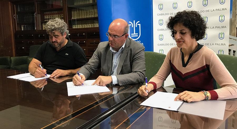 El Cabildo comprometido con Adfilpa para mejorar la calidad de vida de las personas con discapacidad