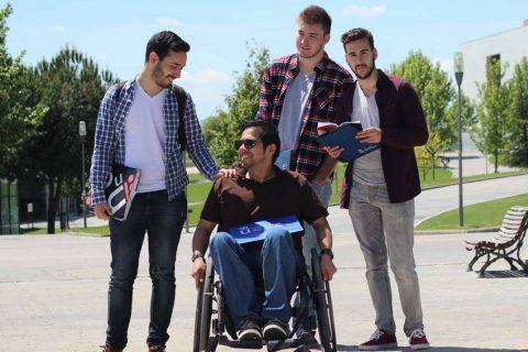 """La URJC crea """"Cátedra para favorecer la accesibilidad y la inclusión sociolaboral de las personas con discapacidad"""""""