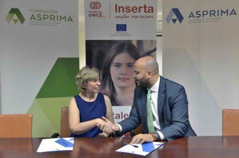 Asprima y su fundación se unen a Fundación ONCE para fomentar el empleo de personas con discapacidad en el sector inmobiliario