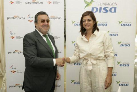 Fundación DISA y el comité paralímpico español renuevan su colaobración para la formación de profesores de educación física