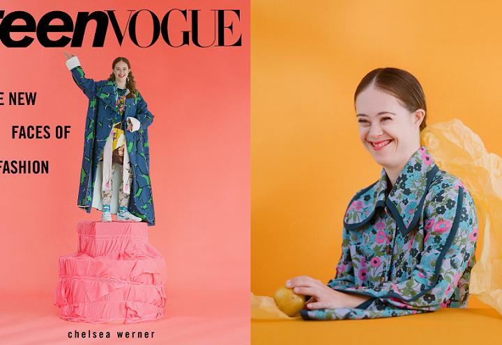 Una modelo con síndrome de Down, portada de septiembre de la publicación Teen Vogue