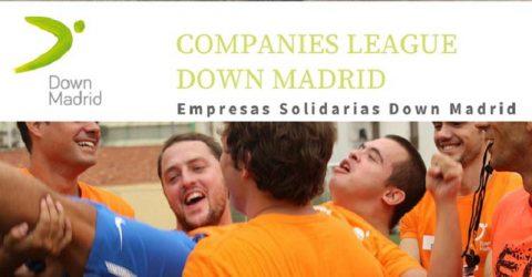 La Mutualidad de la Abogacía participó en el torneo de Fútbol 7 'Empresas Solidarias Down Madrid'