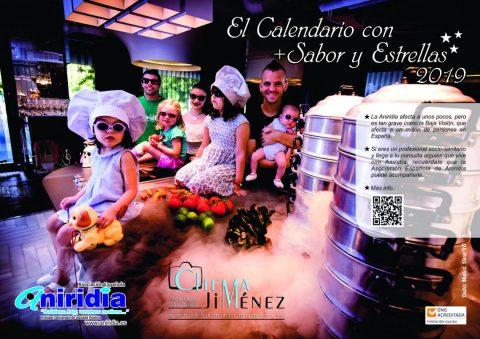 Las estrellas Michelín españolas apoyan a la Asociación Aniridia con su calendario solidario
