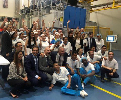 ILUNION inaugura su primera lavandería industrial en Colombia