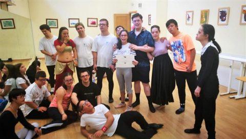 Danza Down y Real Patronato de Discapacidad organizan varios talleres para la integración de personas con discapacidad