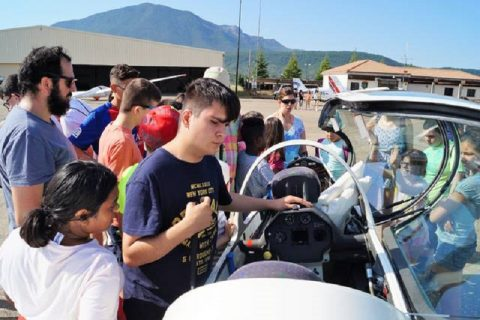 El aeródromo de Santa Cilia promoverá acciones para personas con discapacidad intelectual