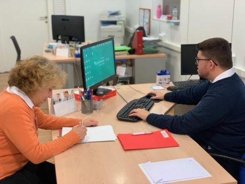 Personas con discapacidad intelectual trabajarán en prácticas en el Quirónsalud Infanta Luisa