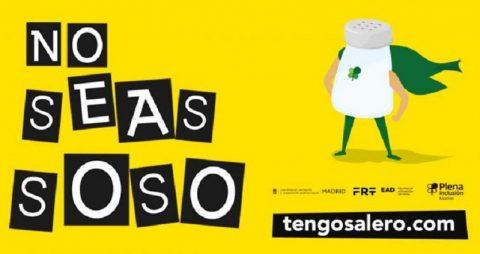 Campaña #TengoSalero ¡No Seas Soso! de Plena inclusión Madrid