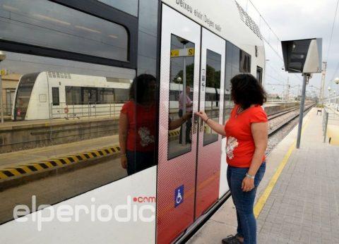 FGV señalizará sus trenes y tranvías para facilitar acceso a personas con discapacidad