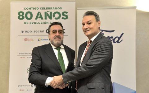 Ford España renueva el compromiso con Fundación ONCE y contratará a 40 personas con discapacidad