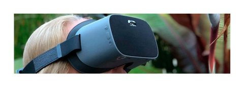 Pico y NuEyes presentan un visor para personas con discapacidad visual