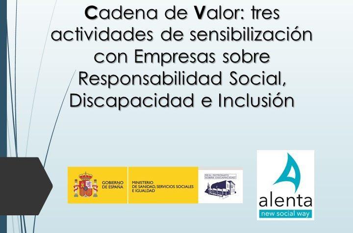 32 empresas sensibilizadas sobre RSE y #disCapacidad: éxito del Convenio Alenta-Real Patronato