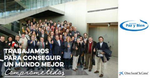 Obra Social 'la Caixa' y Fundación Cajasol financiarán un proyecto de Paz y Bien para personas con discapacidad intelectual desempleadas