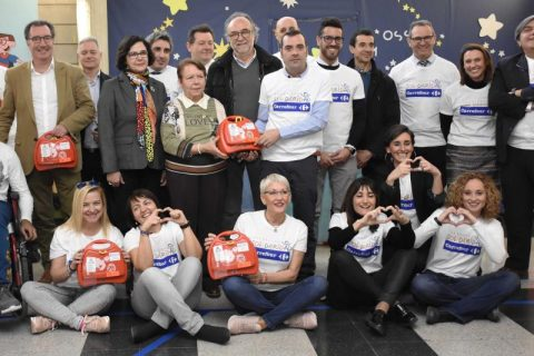 Carrefour financia la adquisición de equipamiento técnico para la cardioprotección de los menores con parálisis cerebral de Cataluña