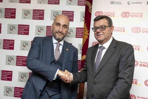 Gestores Administrativos de España fomentarán la inserción laboral de personas con discapacidad