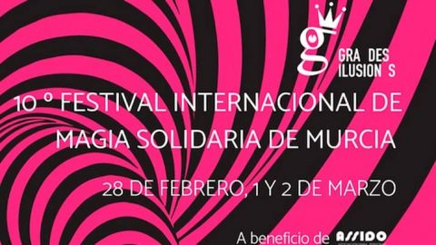 X Festival de Magia Solidaria Grandes Ilusiones a favor de ASSIDO Murcia