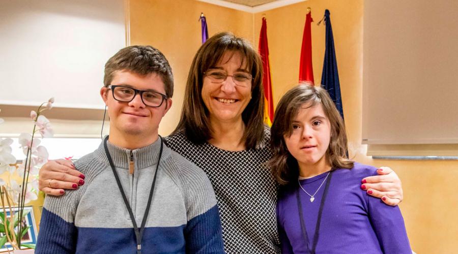 Tres alumnos con discapacidad se incorporan a la plantilla municipal de Pozuelo