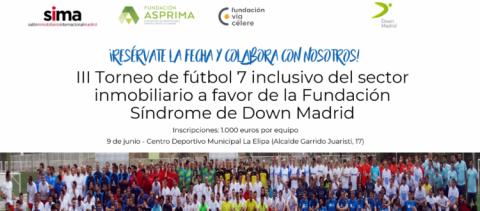 III Torneo benéfico de Fútbol 7 inclusivo del sector inmobiliario