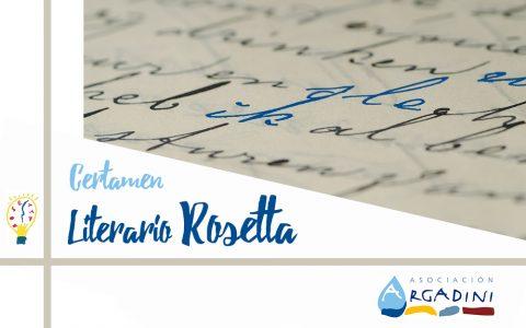 XII Edición del Certamen Literario Rosetta para personas con discapacidad intelectual o autismo