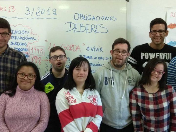 Down Mérida retoma programa de Fundación Once para formar en el empleo a ocho jóvenes