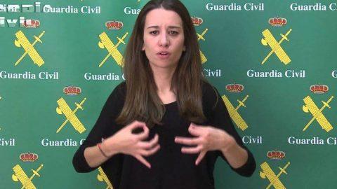 El teléfono 062 de la Guardia Civil será accesible en lengua de signos