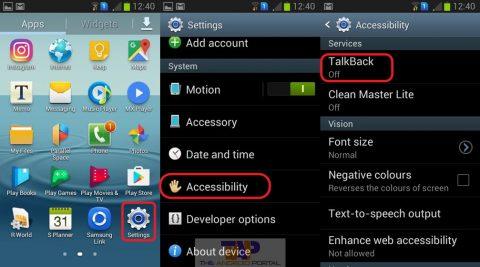 Android mejora Talkback para facilitar el uso a personas con discapacidad visual