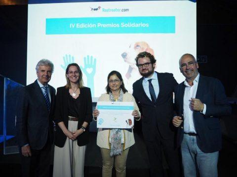 Los Premios Solidarios Rastreator reconocen la labor de Down Madrid