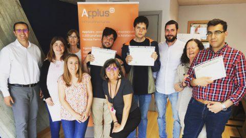 Personas con discapacidad intelectual se preparan en Applus+ para acceder al mercado laboral