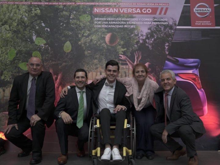 Nissan lanza Versa Go, vehículo para personas con discapacidad motriz
