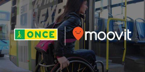 La ONCE y Moovit facilitan la movilidad a las personas ciegas