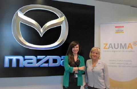 Zauma Inclusión y Diversidad y Mazda se alían a favor de la discapacidad